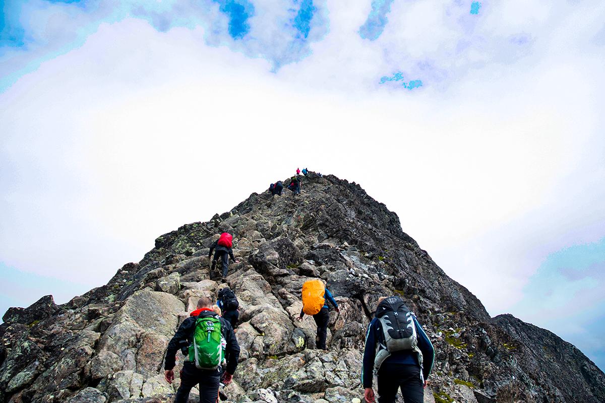 Dağcılık, Dağ Tırmanışı
